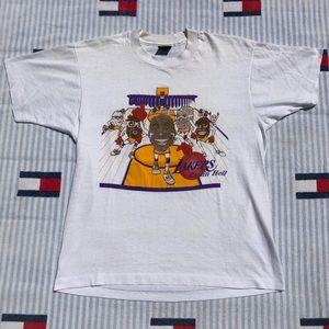 Vintage LA Lakers raisin hell magic Johnson shirt